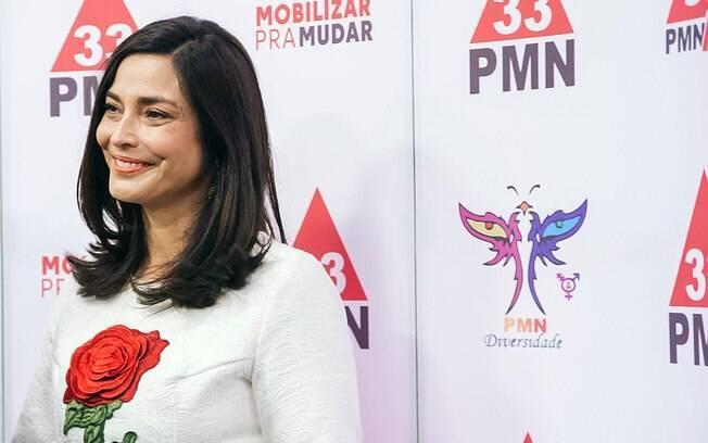 Valéria Monteiro não alcançou as intenções de voto necessárias nas pesquisas eleitorais e perdeu apoio do partido