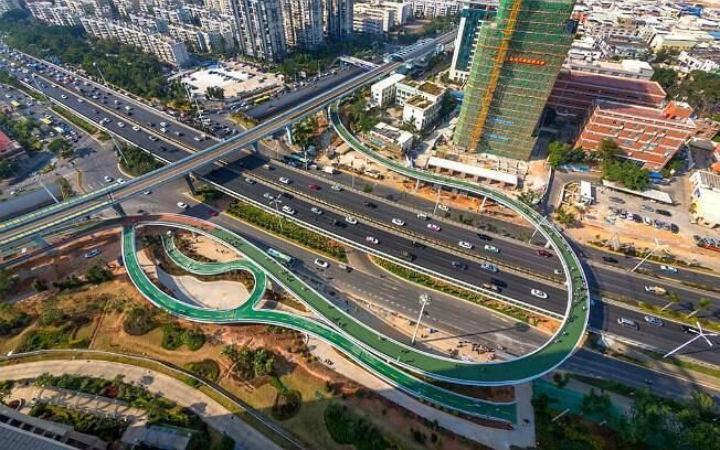Xiamen Bicycle Skyway, na China