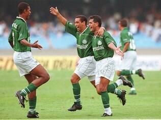 Palmeiras levou a Copa do Brasil de 98 e a Libertadores de 99