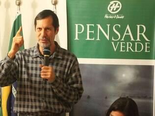 Neste ano, Eduardo Jorge foi escolhido como candidato do PV à Presidência