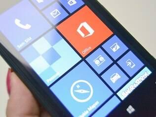 Windows Phone 8 aposta em visual com poucas cores