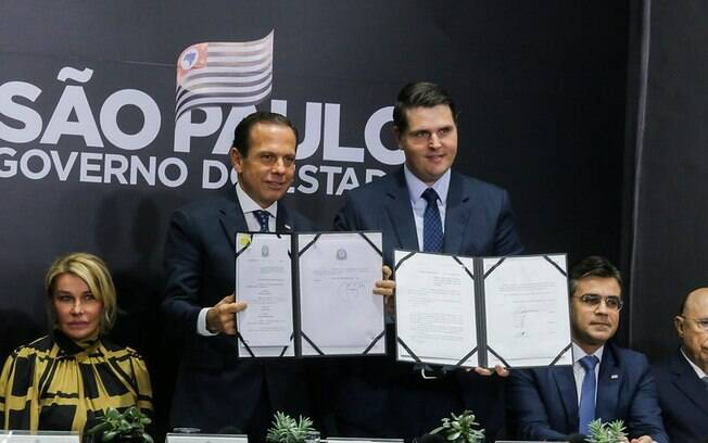 Governador João Doria (PSDB) sanciona a nova Previdência em São Paulo