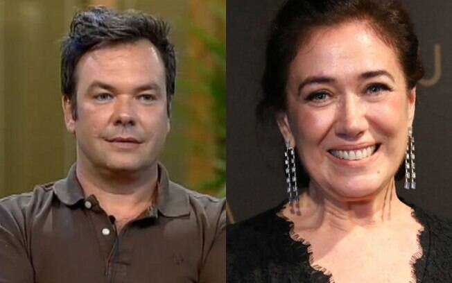 Felipeh Campos e Lilia Cabral