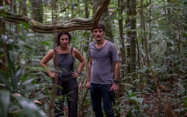 Cena de Jungle Pilot, série nacional com nome gringo que estreia em setembro
