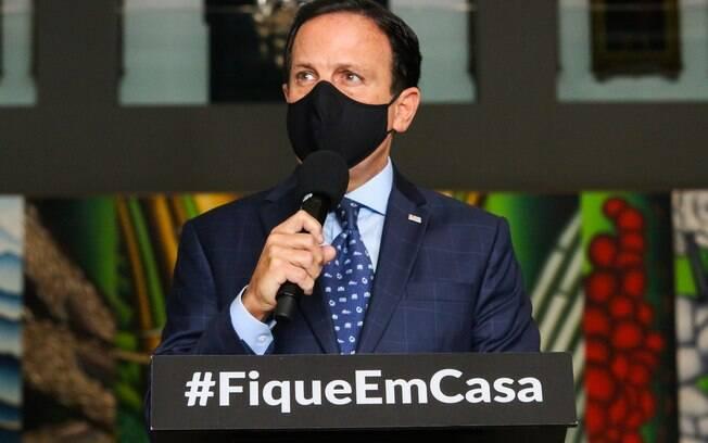 Doria disse que se houver invasão em São Paulo, invasores responderão criminalmente