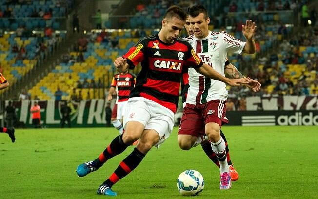 Lance do Fla-Flu deste domingo, válido pela 4ª rodada do Brasileirão. Foto: Bruno Haddad/Fluminense F.C.