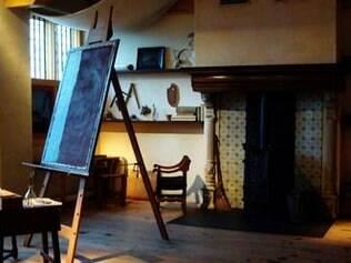 Atelier é uma das áreas do Rembrandt House Museum