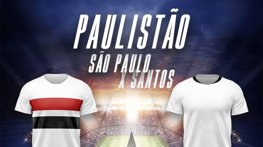 São Paulo e Santos se enfrentam neste sábado
