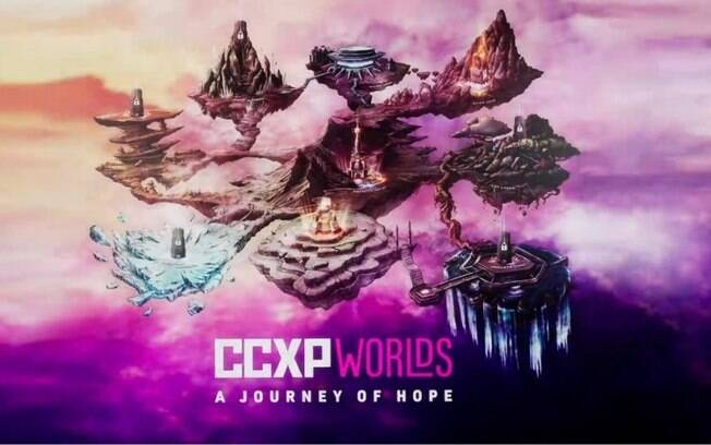 Mapa interativo da CCXP 2020
