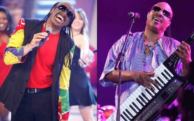 Rodrigo Faro homenageia Stevie Wonder