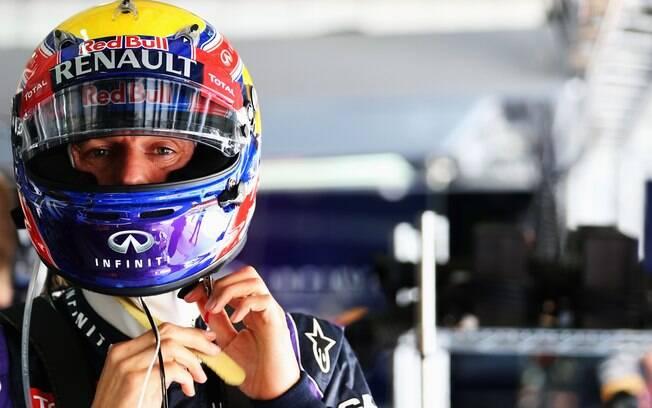 Companheiro de Vettel na Red Bull, Mark  Webber foi o quinto no treino