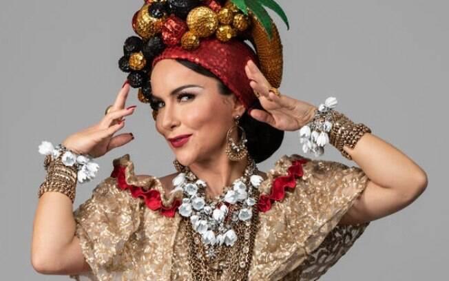 Depois de viver Bibi Ferreira, Amanda Costa dará via a Carmen Miranda no Teatro