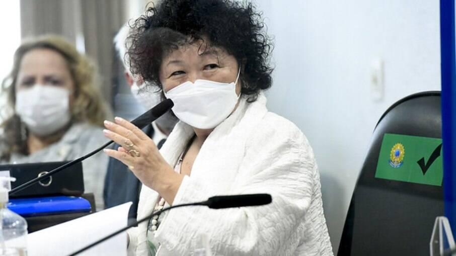Nise Yamaguchi foi ouvida pela CPI na terça-feira (3)