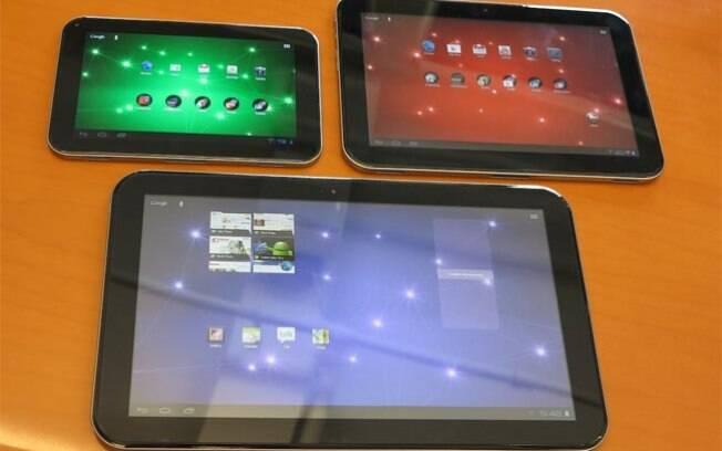 Linha de tablets da Toshiba inclui um modelo de 13 polegadas, considerado o maior do mundo
