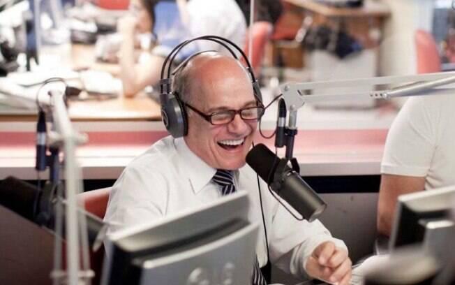 Jornalista e radialista Ricardo Boechat