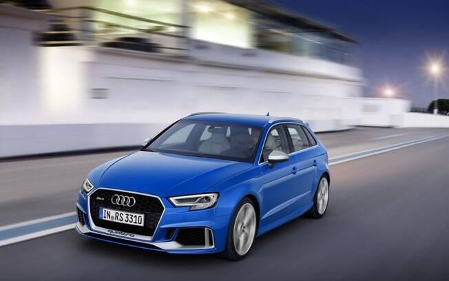 Audi RS3 é um representante dos esportivos entre os hatches médios que menos desvalorizam