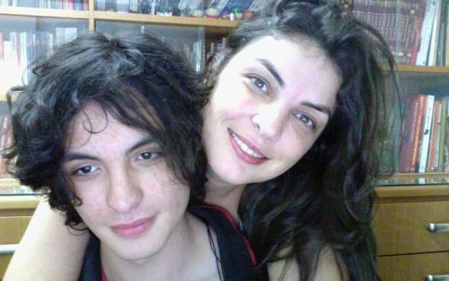 Silvia Morelli, 35, e o filho, de 19 anos