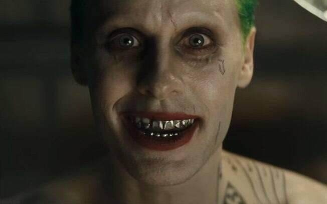 """Jared Leto como Coringa na primeira prévia de """"Esquadrão Suicida"""""""