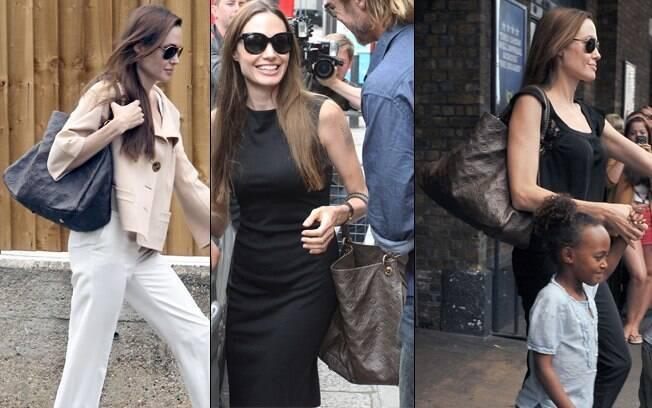 Angelina Jolie: R$3.000 em 15 minutos de compras