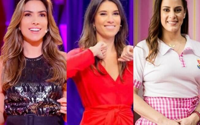 Patrícia Abravanel%2C Rebeca Abravanel e Silvia Abravanel. Além delas%2C Silvio Santos tem outras duas filhas%3A Cintia e Daniela