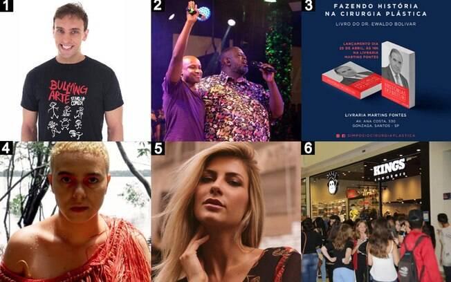 Artistas em destaque em Rapidinhas
