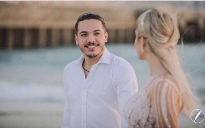 Wesley Safadão se declara para Thyane Dantas