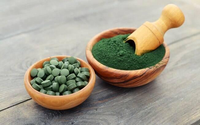 Alimentos que ajudam a emagrecer: a spirulina é rica em nutrientes e considerada um superalimento