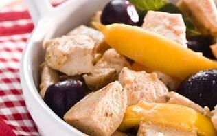 Peito de frango com vinho e limão siciliano