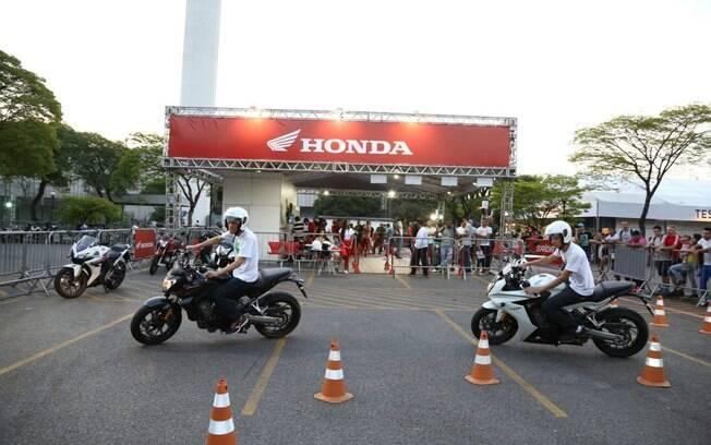 Áreas de test-ride serão a oportunidade dos entusiastas verem na prática as motos dos estandes
