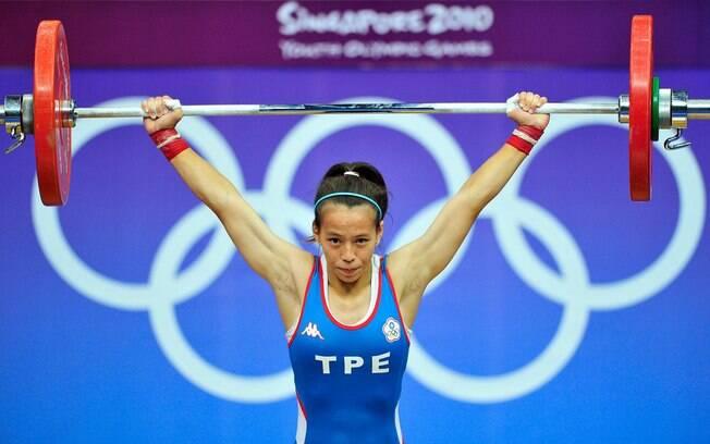 Levantamento de peso nos Jogos Olímpicos
