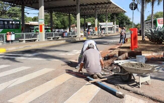 Terminal Barão Geraldo recebe nova sinalização e bicicletário