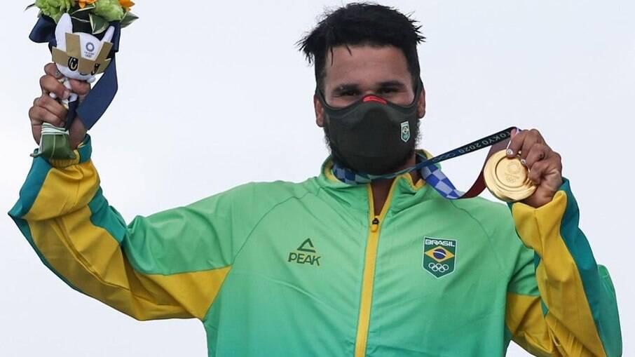 ítalo Ferreira foi medalha de ouro nas Olimpíadas de Tóquio