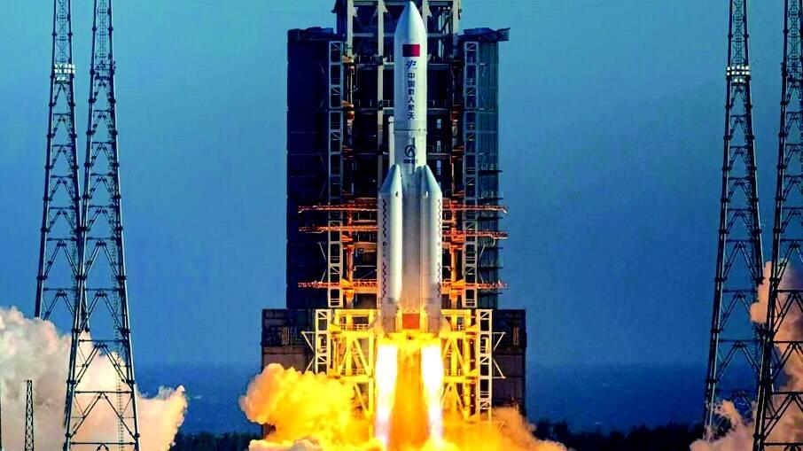 Especialistas ainda não conseguiram definir onde será o 'local de pouso' do foguete chinês