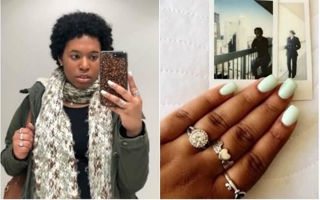 Janiah Sanders jogou as joias que ganhou do ex-namorado no bueiro após descobrir que estava sendo traída