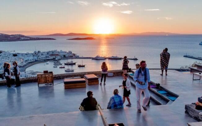180 Degrees: o sunset bar mais cool da cidade