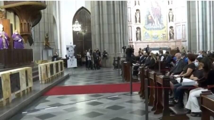 Missa de sétimo dia de Bruno Covas foi realizada na Catedral da Sé