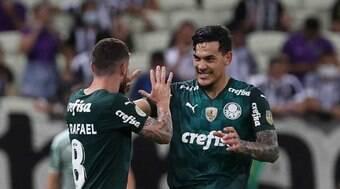Palmeiras vence o Ceará e passa à terceira colocação no Brasileirão