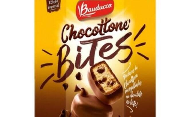 O chocottone bites é uma ótima opção para os pequenos e amantes de chocolate