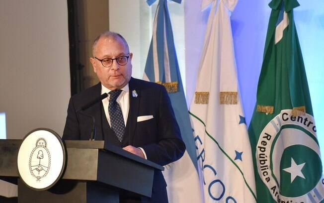 Jorge Faurie compartilhou sua emoção com o presidente Mauricio Macri