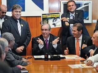 Esforço. Eduardo Cunha reuniu as centrais no início do mês e pode reeditar encontro antes dos ministros