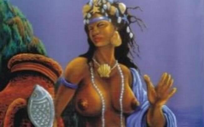 Mãe no Candomblé, orixá Yemanjá