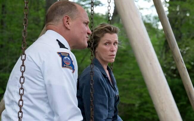 Woody Harrelson e Frances McDermond devem ser indicados ao Oscar por suas atuações no filme