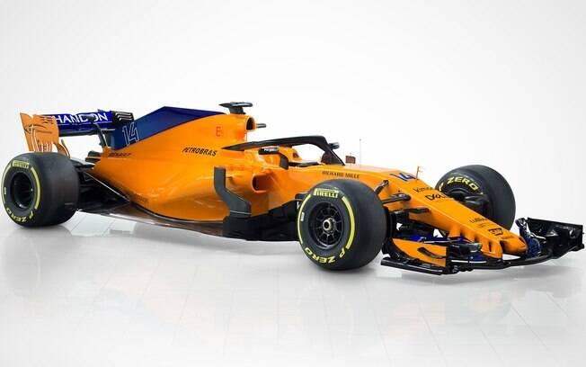 McLaren apresenta novo carro para a temporada 2018 da Fórmula 1