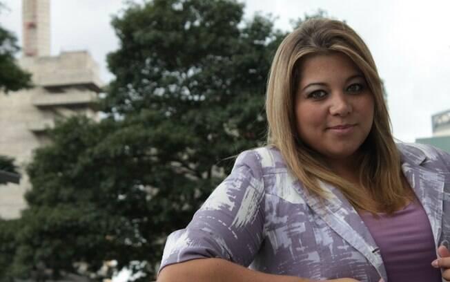 Simone Fiúza, 25 anos, foi vetada em um concurso de miss por seu peso