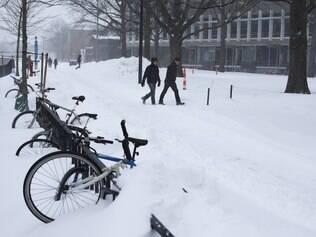 EUA esperavam a pior nevasca da história