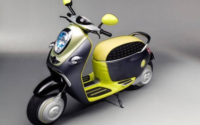 Scooter elétrico da Mini