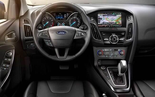 Interior do Ford Focus