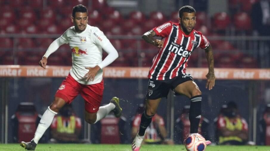 São Paulo e Red Bull Bragantino duelam pelo Brasileirão