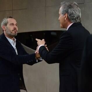 Nico Puig se despede de Roberto Justus