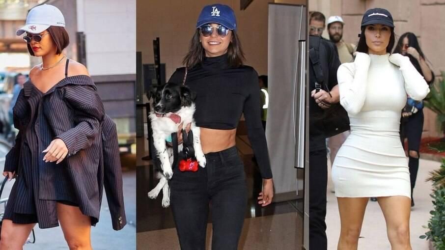Rihanna, Nina Dobrev e Kim Kardashian